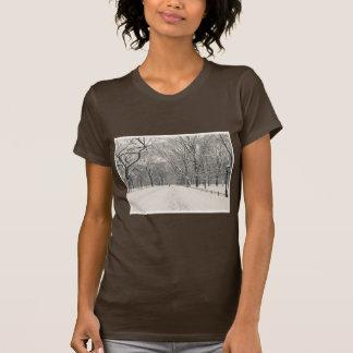 Poet's Walk - Central Park Winter T Shirt
