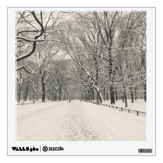 Poet's Walk - Central Park Winter Wall Decal
