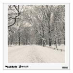 Poet's Walk - Central Park Winter Wall Skins