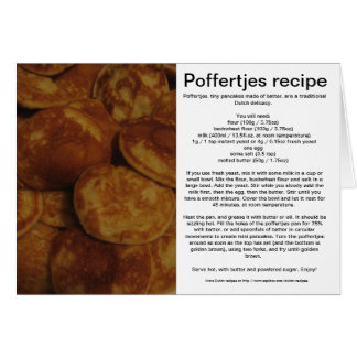 Poffertjes Card
