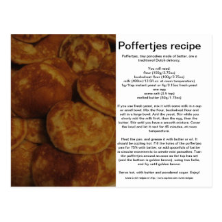 Poffertjes Postcard