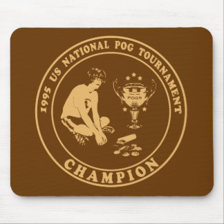 Pog Champion Mouse Pad