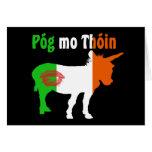 Pog MES Thoin - humor irlandés Felicitacion