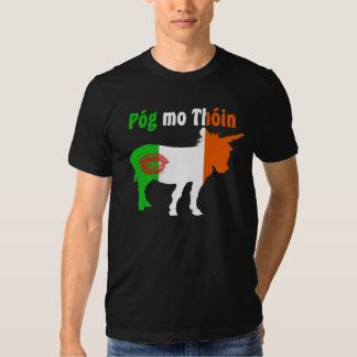 Pog MES Thoin - humor irlandés Playera