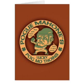Pog Mo Boxer Card