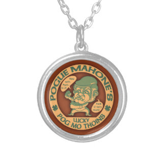 Pog Mo Boxer Silver Plated Necklace