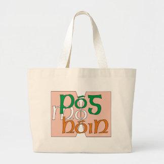 Pog mo hone canvas bag