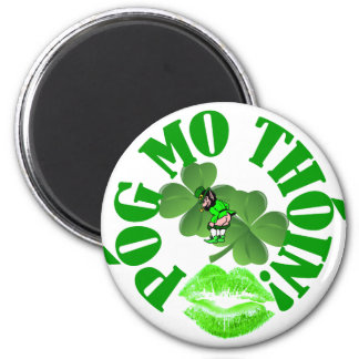 Pog mo thoin 2 inch round magnet