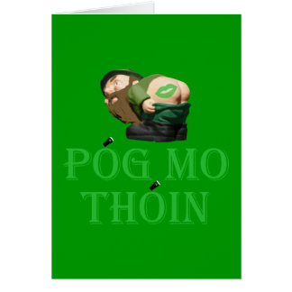 Pog mo thoin card