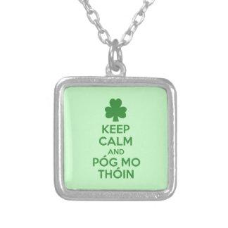 Pog mo thoin custom necklace