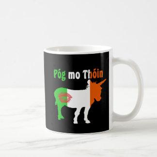 Pog Mo Thoin - Irish Humor Classic White Coffee Mug