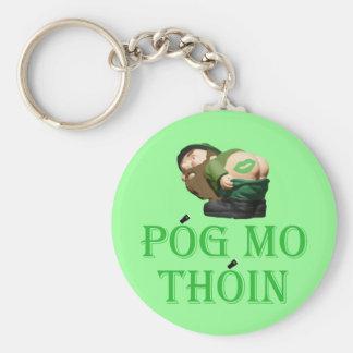 Pog mo thoin keychain