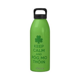 Pog mo thoin reusable water bottles