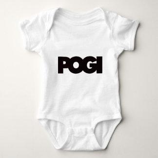 Pogi - Black Baby Bodysuit