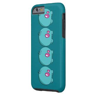 Pogo O.o Cyan Phone Case