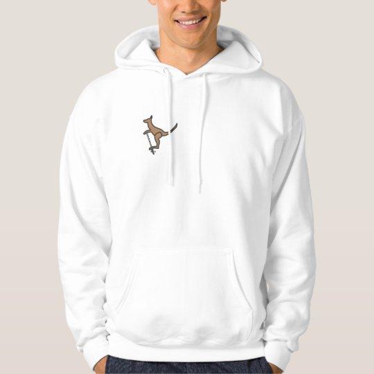 Pogo-Roo corner hoodie
