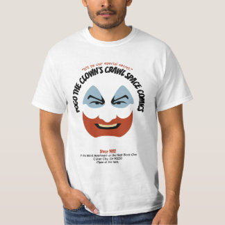 Pogo the Clown's Crawl Space Comics T-Shirt