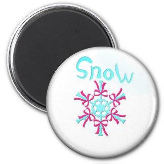 pogoda sneg magnet