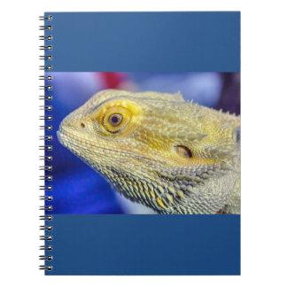 Pogona vitticeps spiral notebook