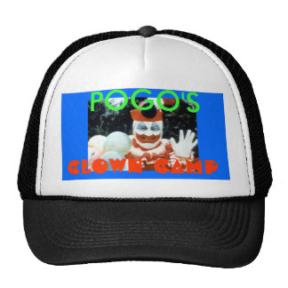 POGO'S, CLOWN CAMP - Customized Trucker Hat
