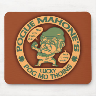Pogue's Lucky Thoins Mouse Pad