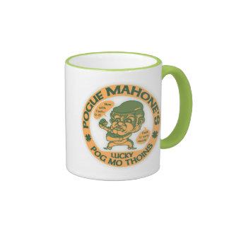 Pogue's Lucky Thoins Ringer Mug
