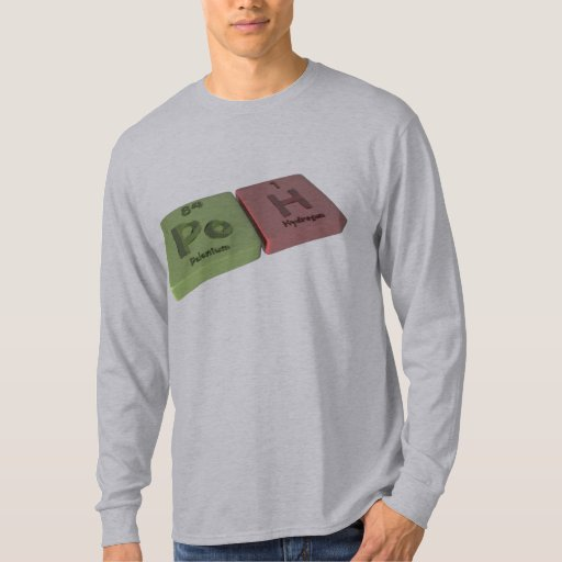 Poh as Po Polonium and H Hydrogen T-shirts