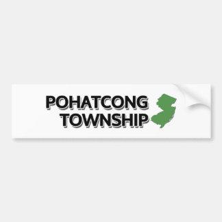 Pohatcong Township, New Jersey Bumper Sticker