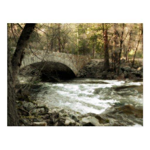 Pohono Bridge, Yosemite Postcard