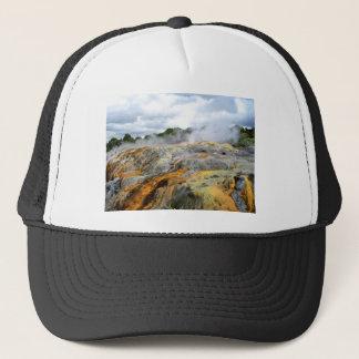 Pohutu Geyser, Rotorua, New Zealand Trucker Hat
