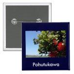 Pohutukawa Tree and Blossom Pins