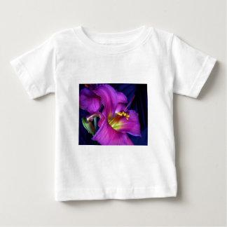 Poignant Poetic Purple Lily Baby T-Shirt
