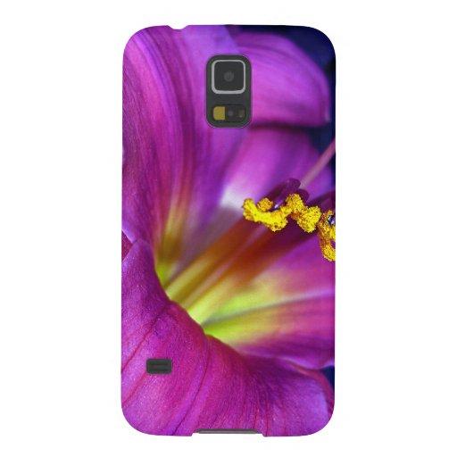 Poignant Poetic Purple Lily Galaxy Nexus Case