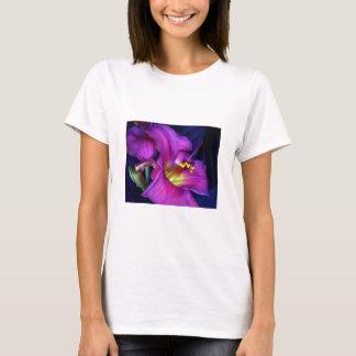 Poignant Poetic Purple Lily T-Shirt