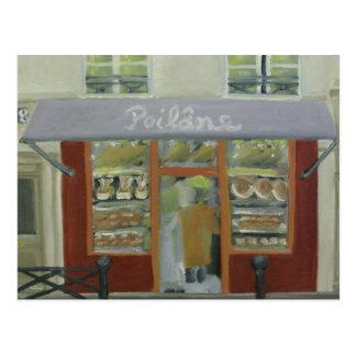 Poilane Boulangerie in Paris Postcard