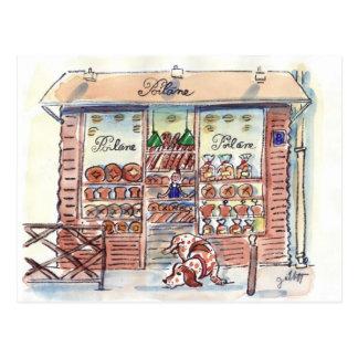 Poilane Boulangerie Paris Postcard