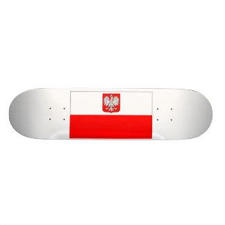 Poilish Flag Skateboard