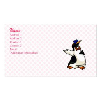Poindexter Penguin Business Card