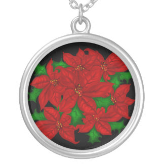 Poinsetta Necklace