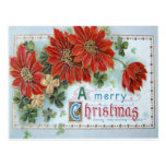 Poinsetta Post Cards