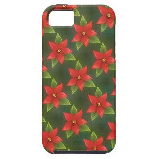 Poinsettia 2 iPhone 5 cover