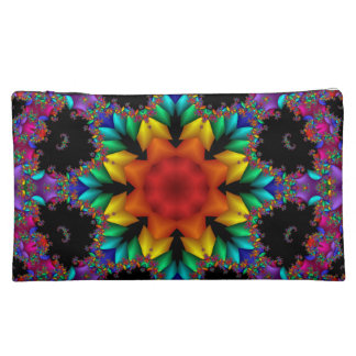 Poinsettia Bagettes Cosmetic Bag