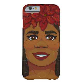 Poinsettia Barely There iPhone 6 Case