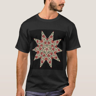 Poinsettia Christmas Star T-Shirt