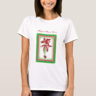 Poinsettia Flower Faerie T-Shirt