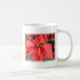 Poinsettia Flowers Coffee Mugs