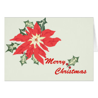 Poinsettia Greeting Cards