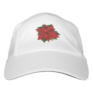Poinsettia Headsweats Hat
