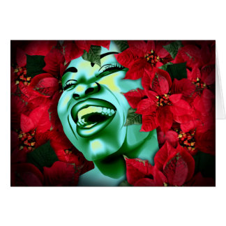 Poinsettia Heaven Greeting Cards