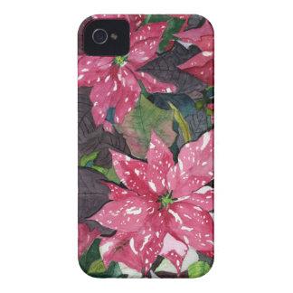 Poinsettia iPhone 4 Case-Mate Cases
